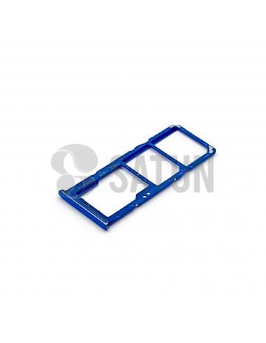 GH98-44196C . Bandeja Dual SIM y microSD Samsung Galaxy A70 azul