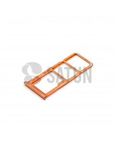 GH98-44196D . Bandeja Dual SIM y microSD Samsung Galaxy A70 coral