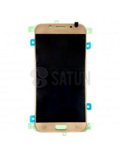 Pantalla Samsung Galaxy J5 2017 oro frontal