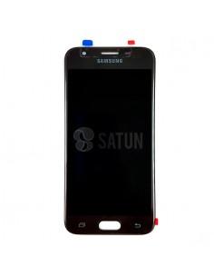 Pantalla Samsung Galaxy J3 2017 negro frontal. GH96-10969A