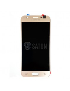 Pantalla Samsung Galaxy J3 2017 oro frontal. GH96-10990A