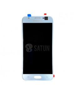 Pantalla Samsung Galaxy J3 2017 azul frontal. GH96-10992A