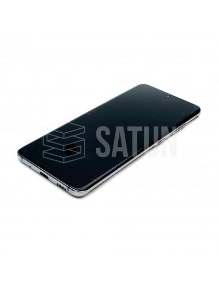 GH82-22131A y GH82-22123A . Pantalla Samsung Galaxy S20 gris (Frontal)