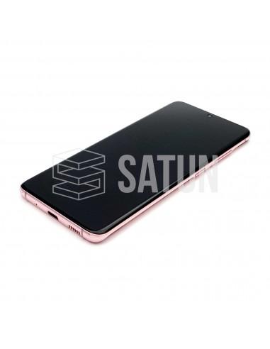 GH82-22131C y GH82-22123C . Pantalla Samsung Galaxy S20 rosa (Frontal)