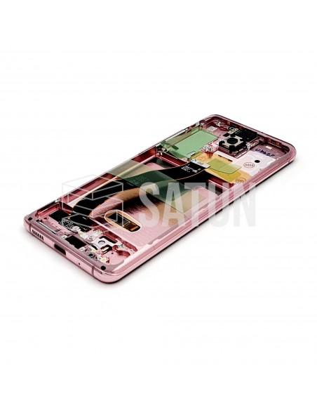 GH82-22131C y GH82-22123C . Pantalla Samsung Galaxy S20 rosa (Interior)