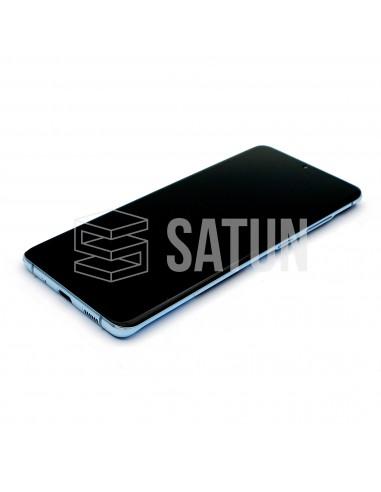 GH82-22145D y GH82-22134D . Pantalla Samsung Galaxy S20 Plus 4G y 5G Azul (Frontal)