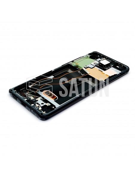 GH82-22145A y GH82-22134A . Pantalla Samsung Galaxy 20+ negro (Interior)