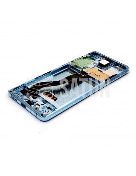 GH82-22145D y GH82-22134D . Pantalla Samsung Galaxy S20 Plus 4G y 5G Azul (Interior)