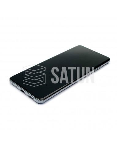 GH82-22327B y GH82-22271B . Pantalla Samsung Galaxy S20 Ultra 5G Gris (Frontal)