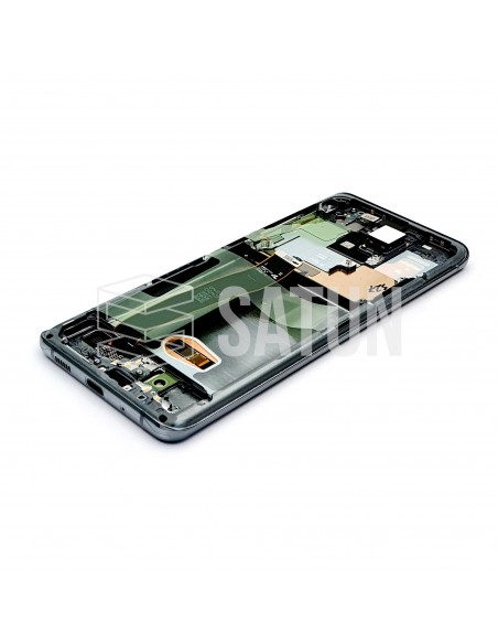 GH82-22327B y GH82-22271B . Pantalla Samsung Galaxy S20 Ultra 5G Gris (Interior)
