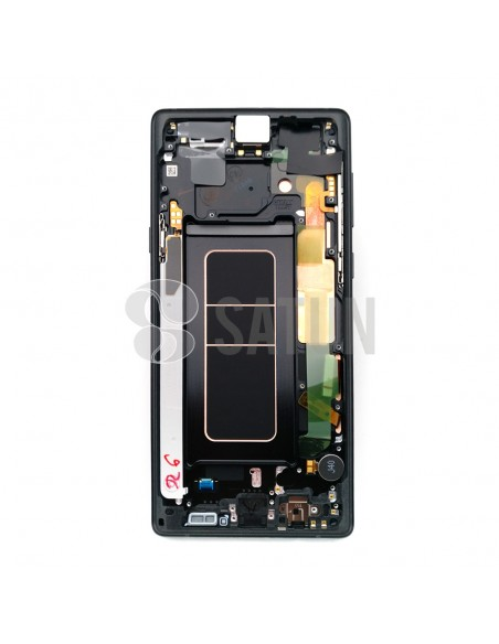 Pantalla Samsung Galaxy Note 9 negro interior. GH97-22269A y GH97-22270A