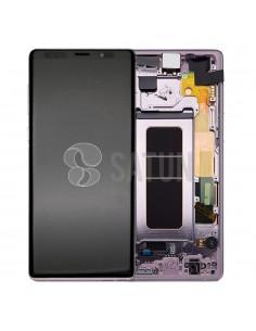 Pantalla con marco Samsung Galaxy Note 9 morado. GH97-22269E y GH97-22270E