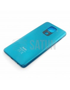 550500009A6D . Tapa de batería Xiaomi Redmi Note 9 verde