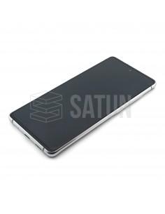 GH82-24214B y GH82-24215B . Pantalla Samsung Galaxy S20 FE 5G blanco
