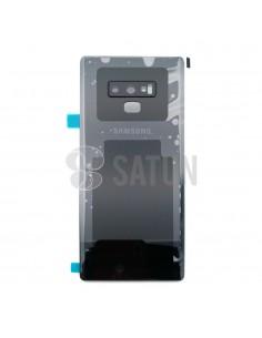 Tapa de batería Samsung Galaxy Note 9 negro frontal