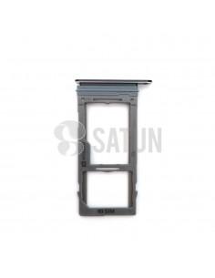 Bandeja SIM y MicroSD Samsung Galaxy Note 9 negro frontal