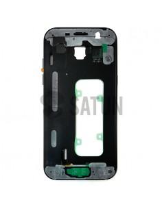 Carcasa intermedia Samsung Galaxy A5 2017 negro