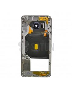 Carcasa intermedia Samsung Galaxy S6 Edge Plus plata