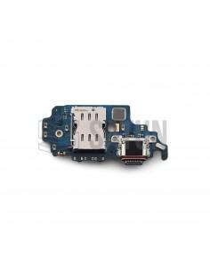GH96-14064A . Placa conector USB-C y lector SIM Samsung Galaxy S21 Ultra