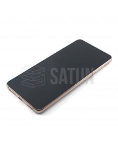 Tapa de batería Samsung Galaxy S6 Edge (SM-G925F) negro