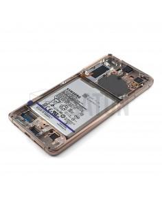Tapa de batería Samsung Galaxy S6 Edge (SM-G925F) oro