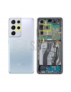 Carcasa frontal Samsung Galaxy J7 2017 (SM-J730) gold