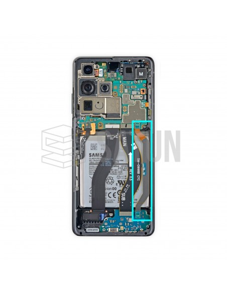 GH59-15421A . Flexo de subpba a placa base Samsung Galaxy S21 Ultra 5G