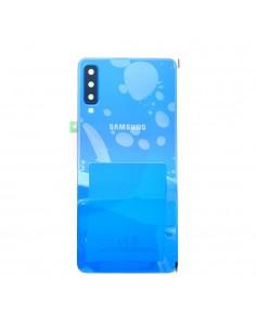 Tapa de batería Samsung Galaxy A7 2018 azul frontal