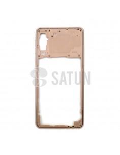 GH98-43585C . Carcasa intermedia Samsung Galaxy A7 2018 oro