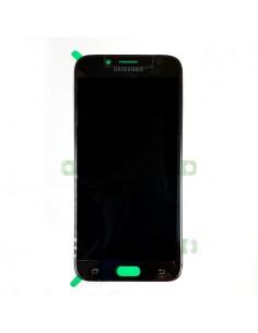 Pantalla Samsung Galaxy J7 2017 negro frontal. GH97-20736A