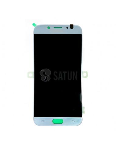 Pantalla Samsung Galaxy J7 2017 azul frontal. GH97-20736B