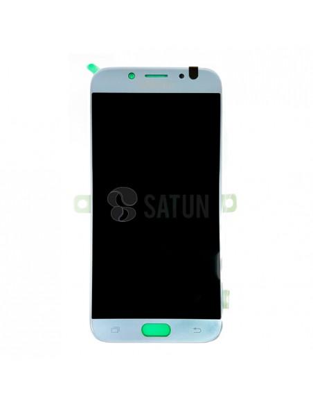 Pantalla Samsung Galaxy J7 2017 azul frontal