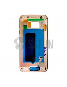 Carcasa intermedia Samsung Galaxy S7 oro