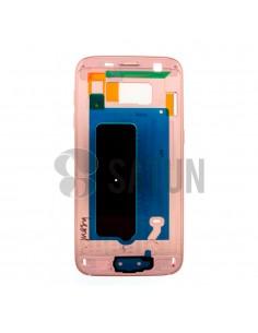 Carcasa intermedia Samsung Galaxy S7 rosa