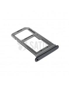 Bandeja SIM y microSD Samsung Galaxy S7 negro