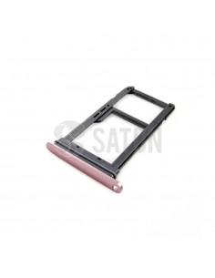 Bandeja SIM y microSD Samsung Galaxy S7 rosa