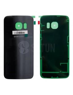 Tapa de batería Samsung Galaxy S6 Edge negro