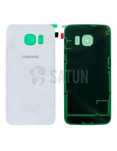 Tapa de batería Samsung Galaxy S6 Edge blanco