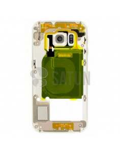 Carcasa intermedia Samsung Galaxy S6 Edge oro