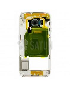 Carcasa intermedia Samsung Galaxy S6 Edge verde
