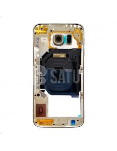 Carcasa intermedia Samsung Galaxy S6 oro