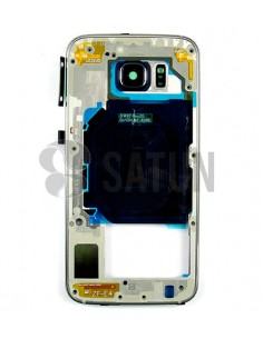 Carcasa intermedia Samsung Galaxy S6 negro