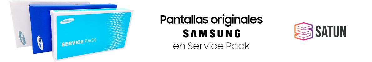 Pantallas originales Samsung en Service Pack